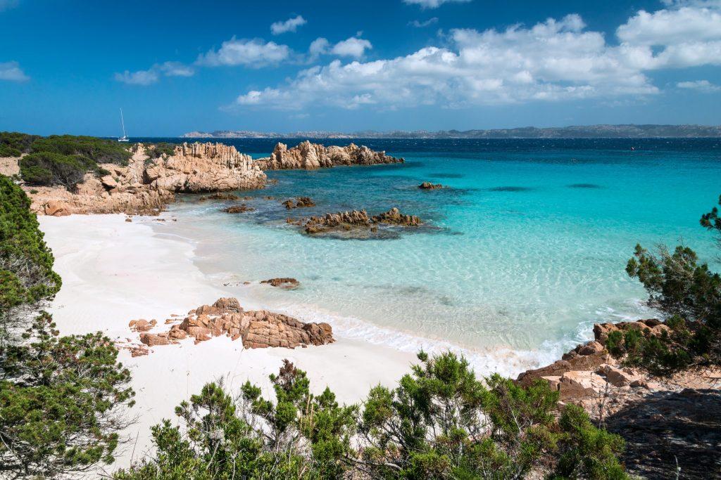 Italia, Sardinia. Arcipelago di La Maddalena National Park