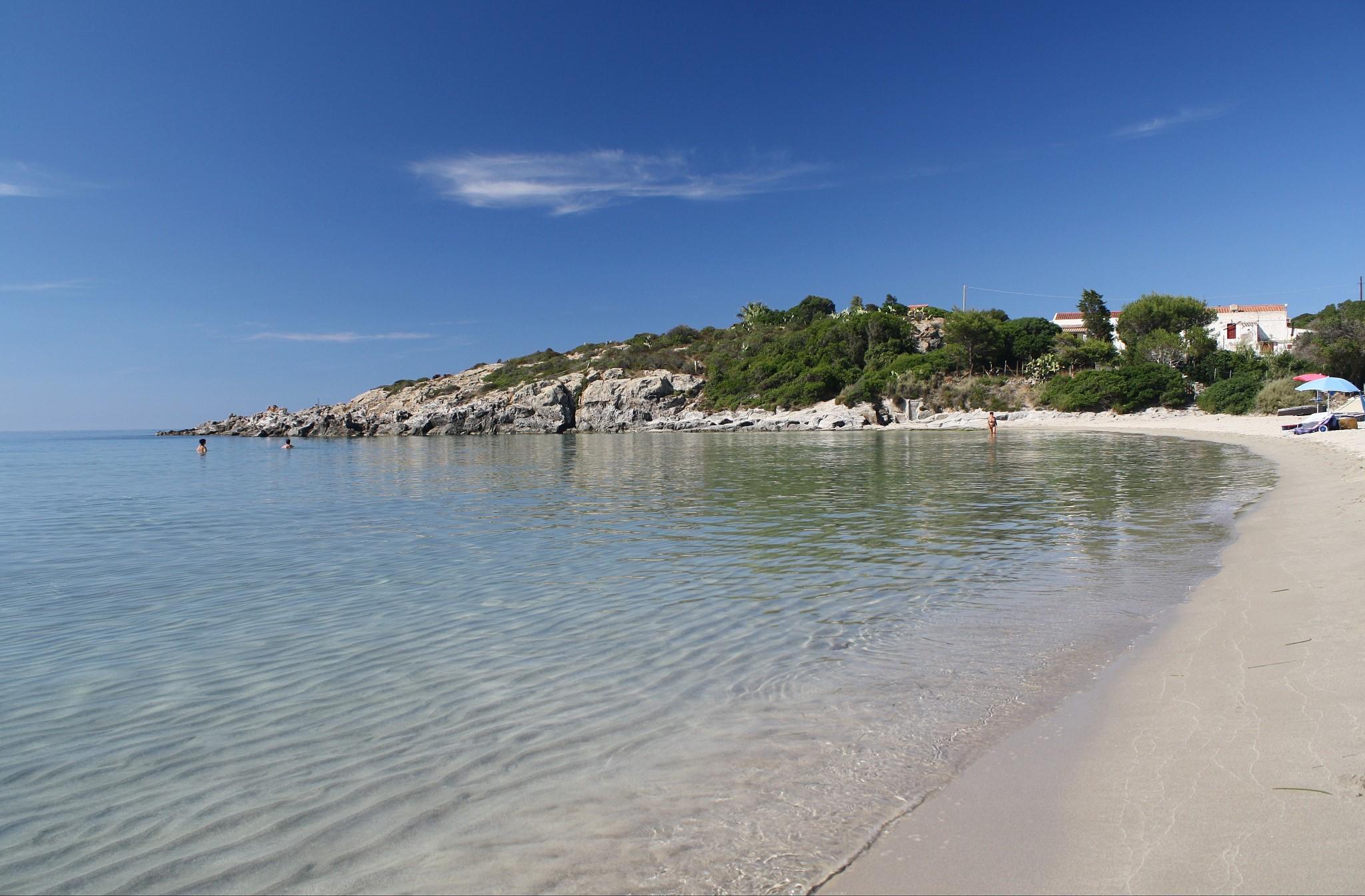 La Bobba Beach, San Pietro Island, Sardinia, Italy