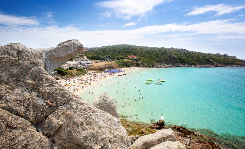 Rena Bianca, the Beach of Santa Teresa, North Sardinia, Italy