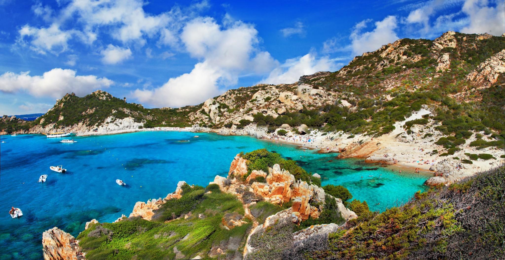 Sardynia, Arhipelago la Maddalena, Włochy