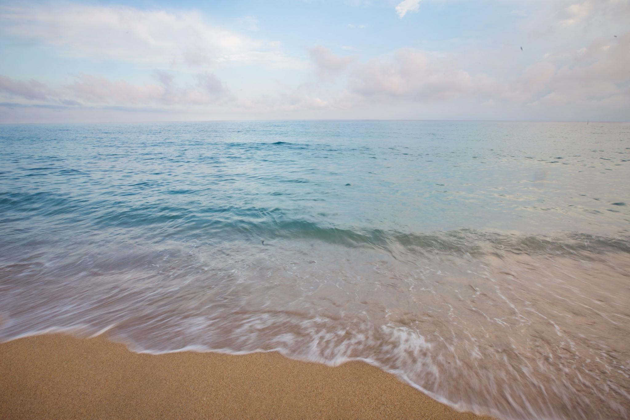 Beach in Orosei, Sardinia, Italy