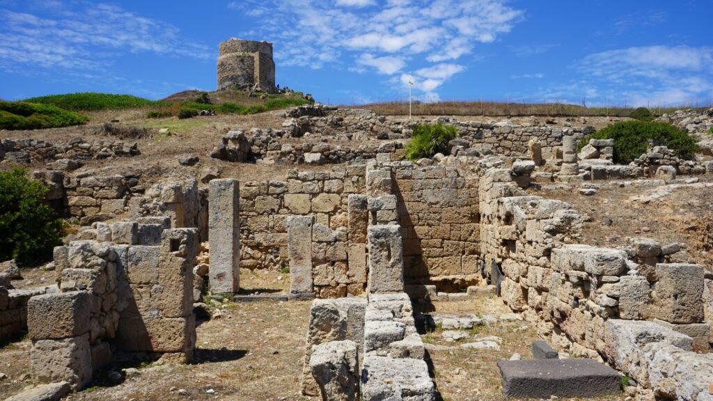 Archaeological site, Tharros, Sardinia, Italy