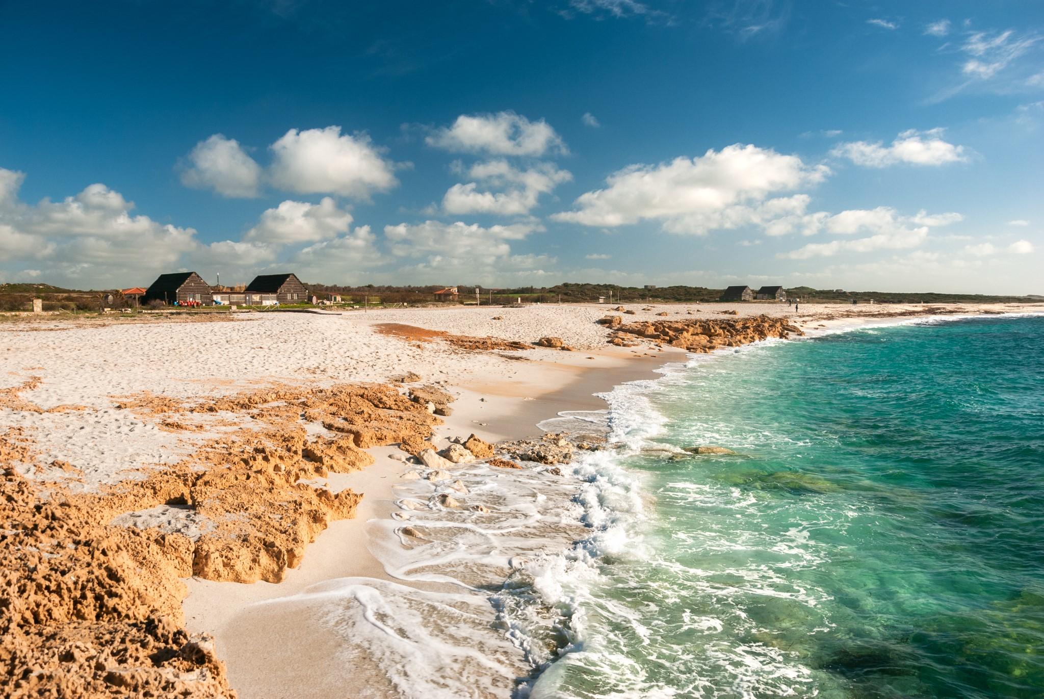 Is Arutas, Oristano, Sardinia, awesome Italian beach