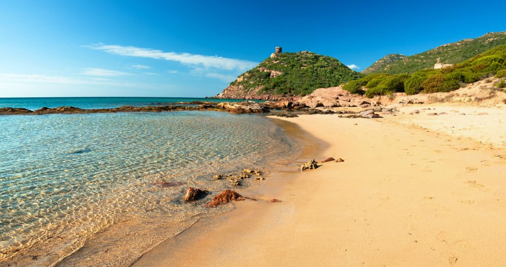 Porto Ferro beach, Alghero, Sardinia, Italy