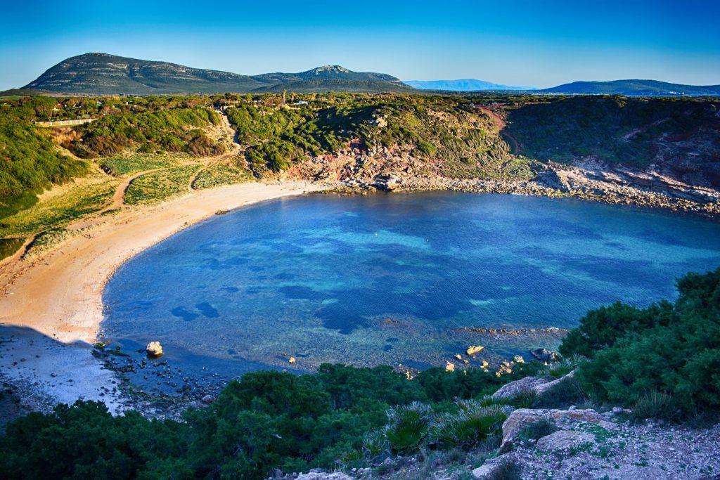 Sardinia,spiaggia di Porto Ferro