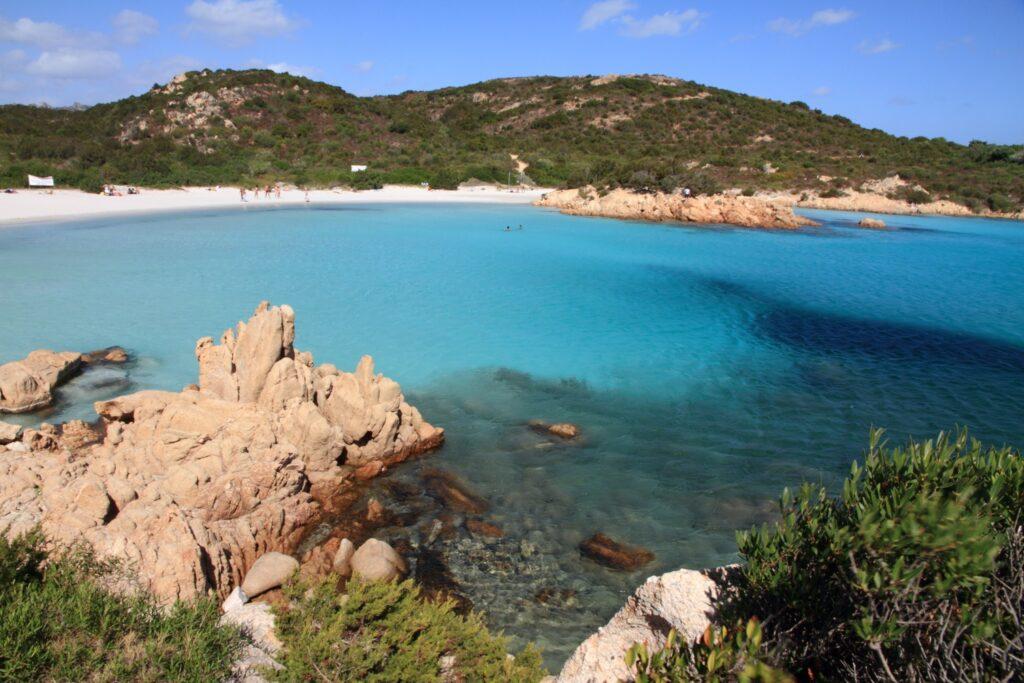 Smerald coast, Principe cove in Arzachena, Olbia province, Sardinia island, Italy