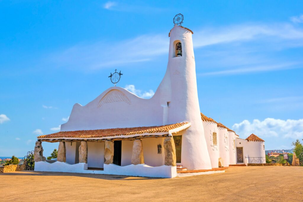 Stella Maris Church, Porto Cervo, Sardinia