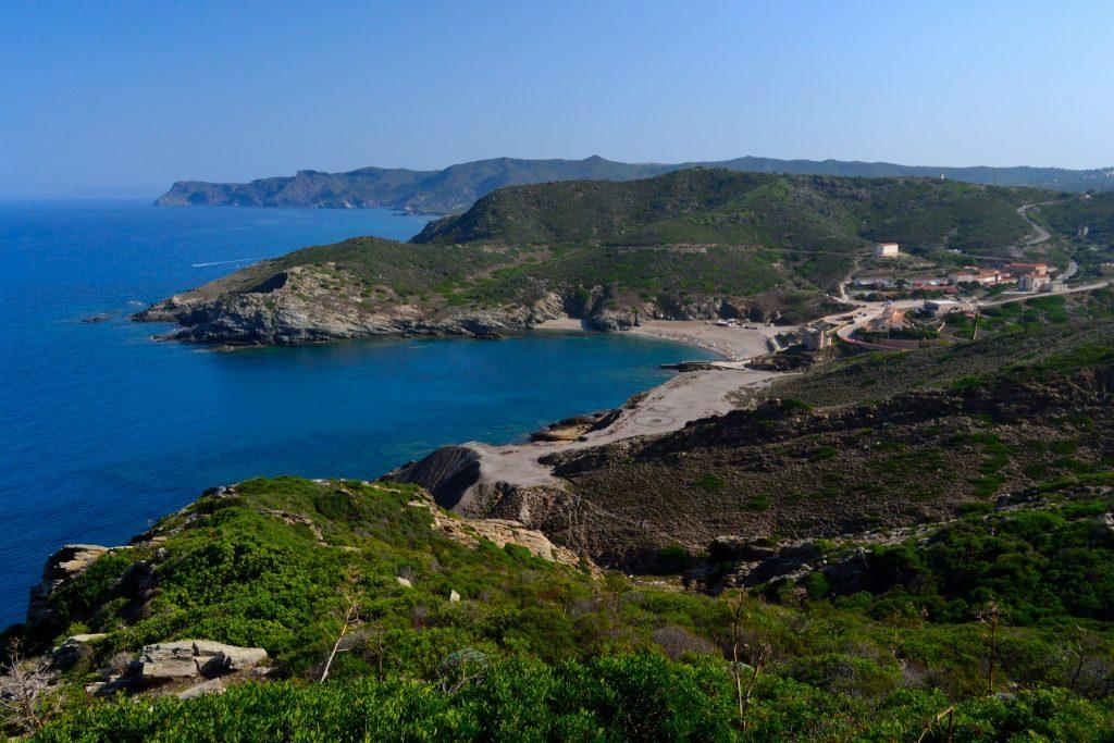The coast of Argentiera, Sassari