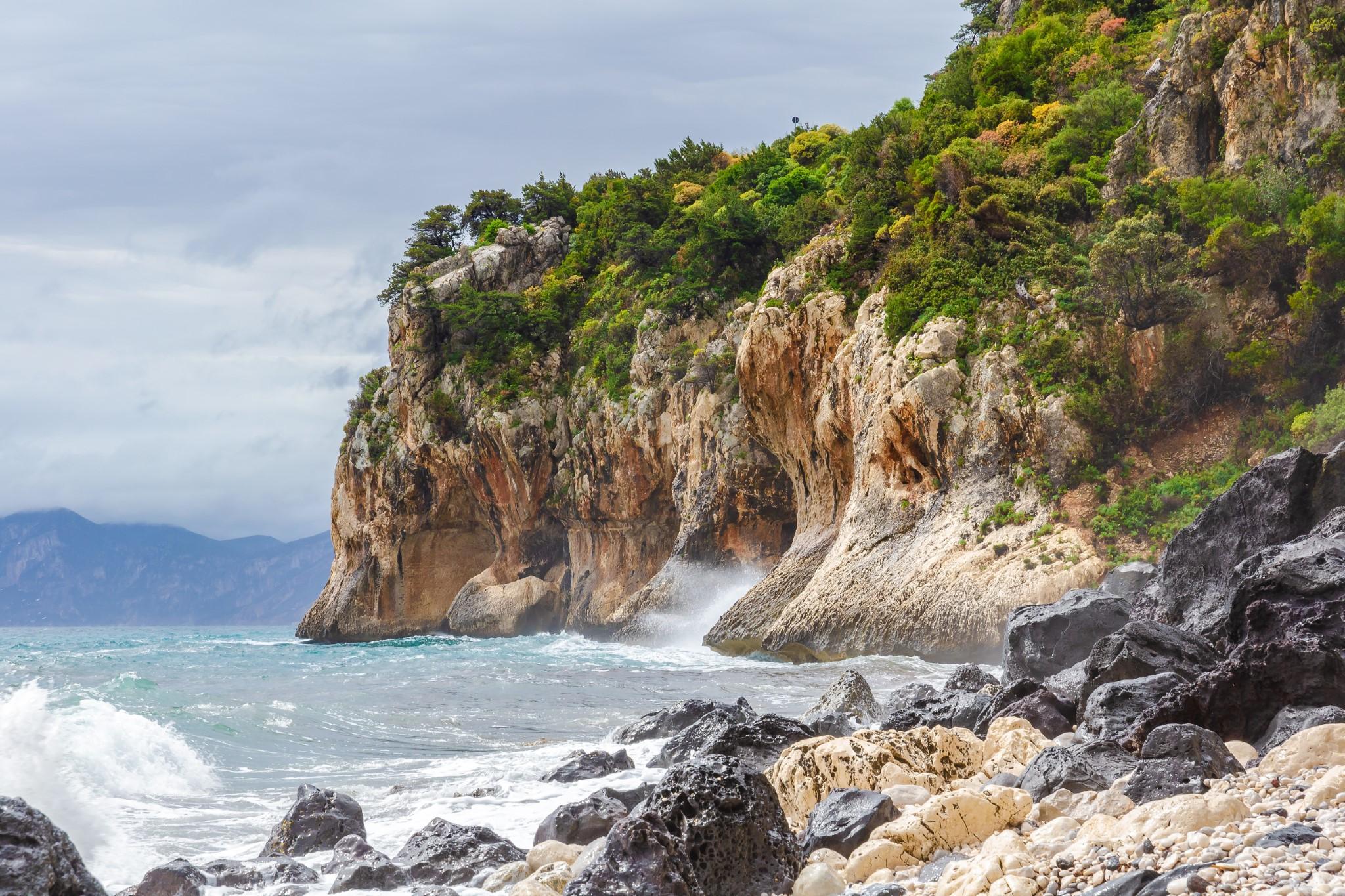 Bay Spiaggia di Ziu Martine near Cala Gonone, Sardinia