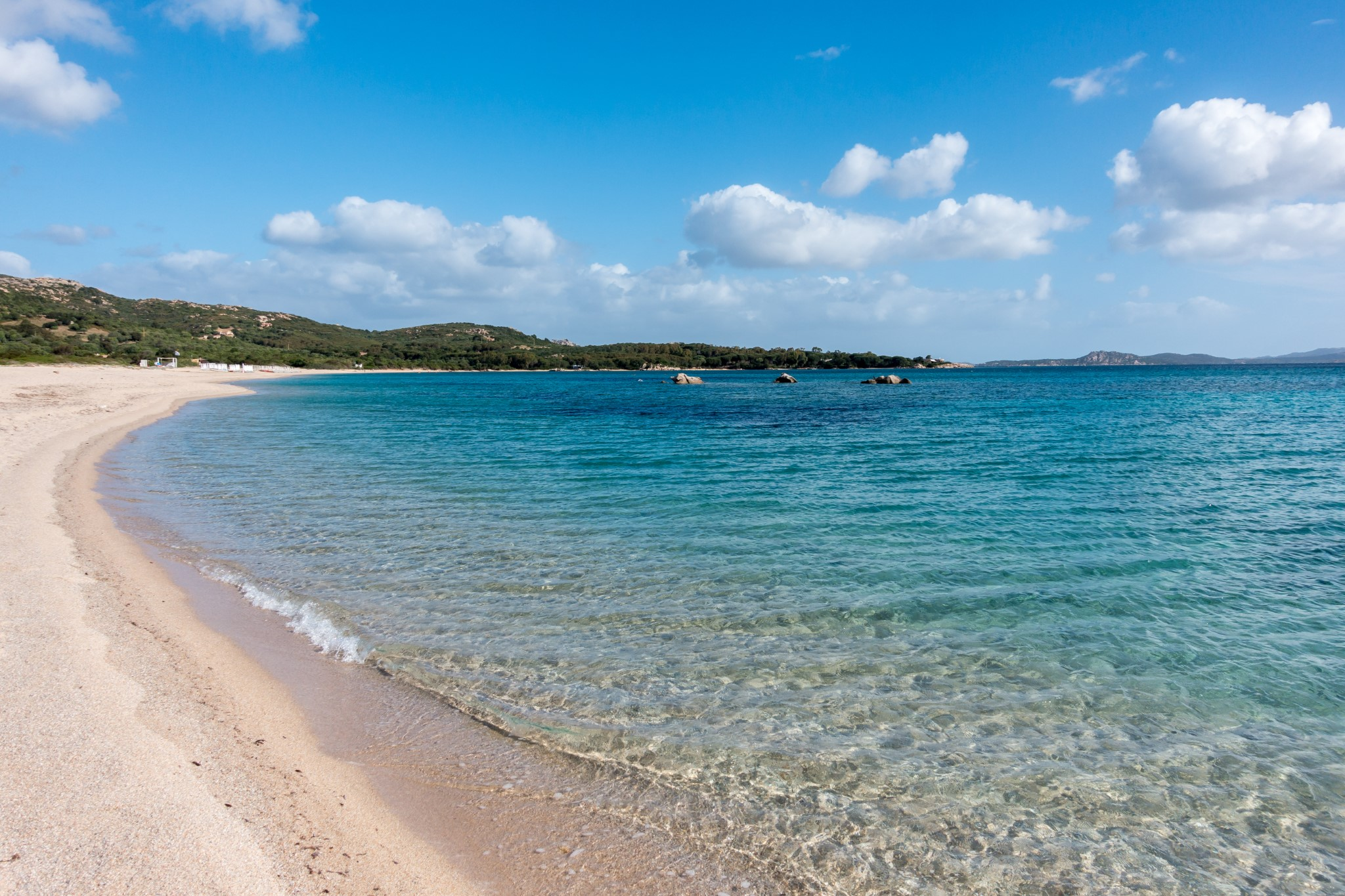 Mannena Bay in Sardinia on May 21, 2015