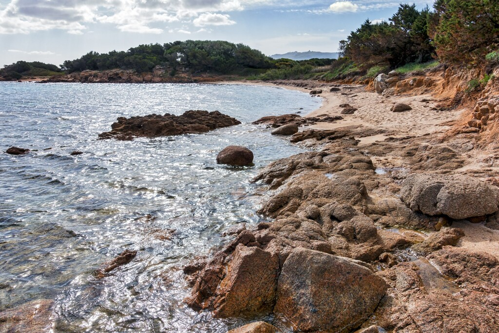 Mannena beach in Sardinia