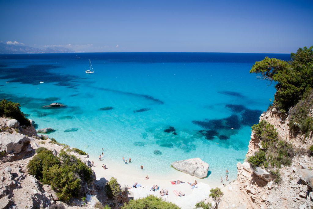 Cala goloritze, Sardynia - Włochy