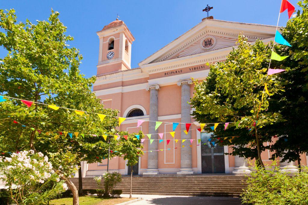 Cattedrale Santa Maria Della Neve cathedral in Nuoro, Sardinia