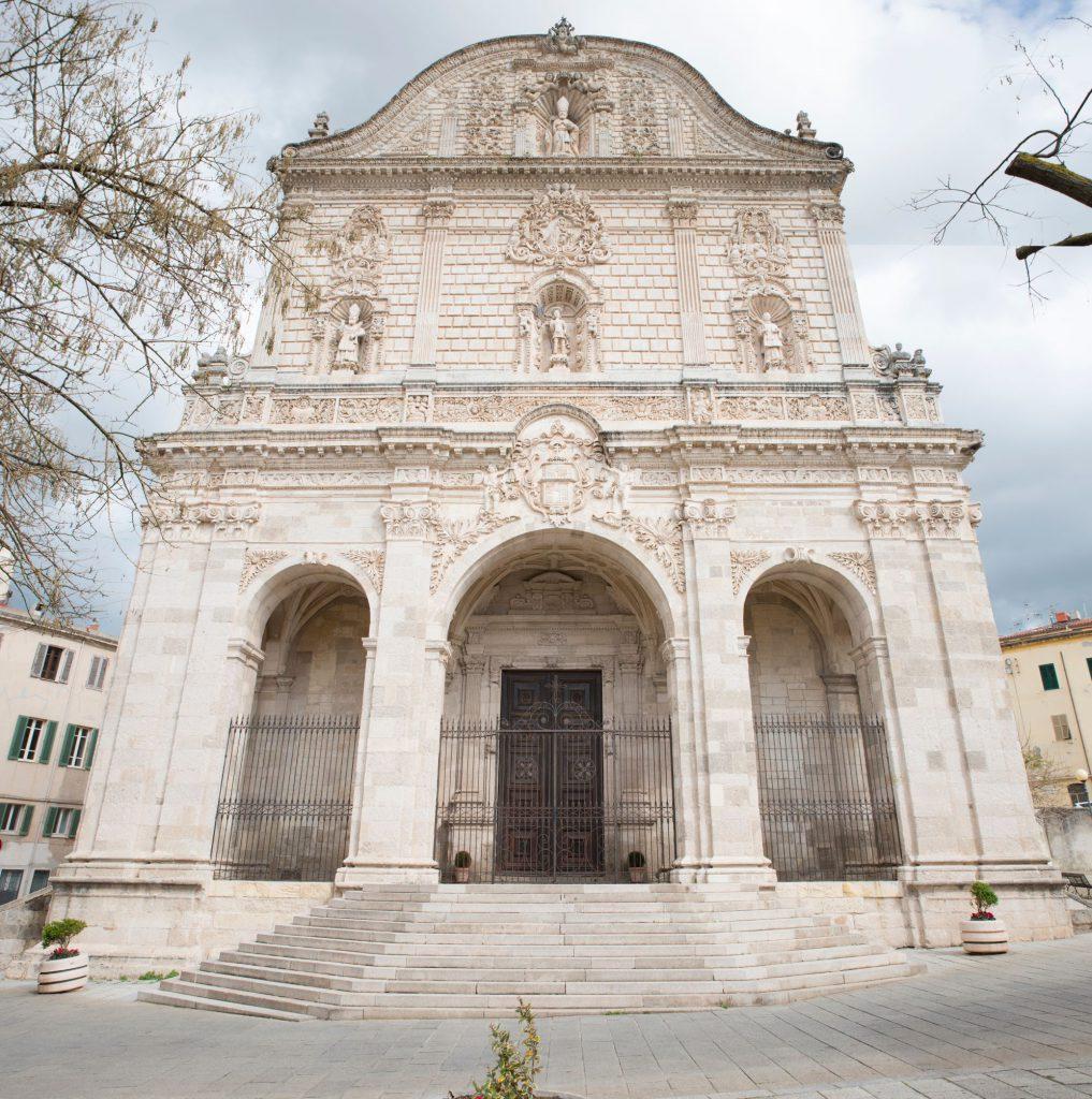 San Nicola Cathedral Duomo in Sassari, Italy
