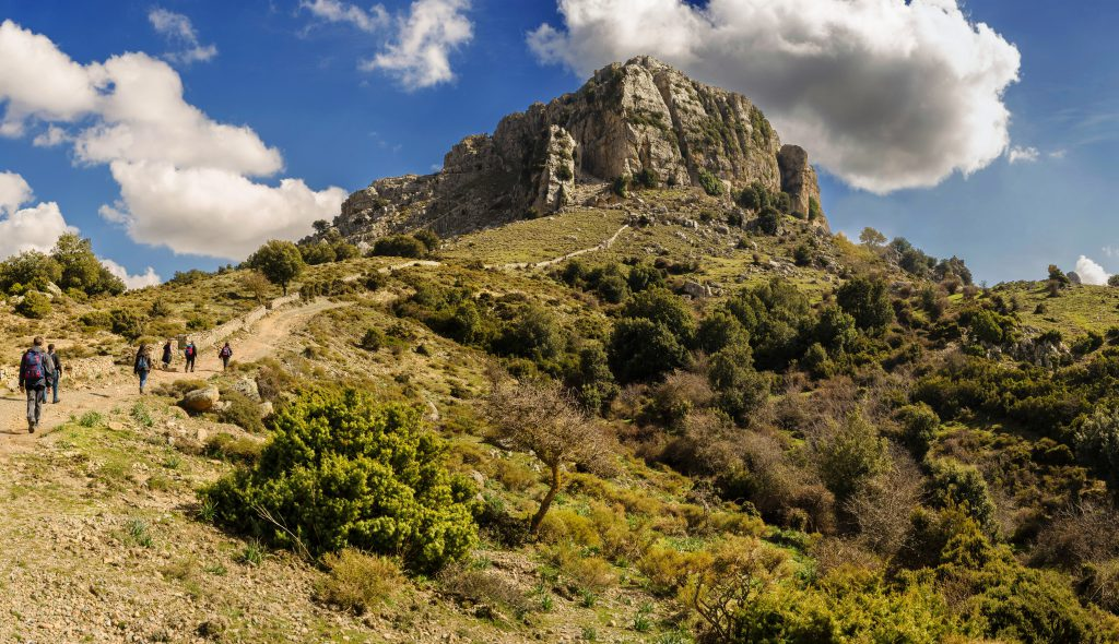 Sardinia, trekking in Orgosolo, Italy