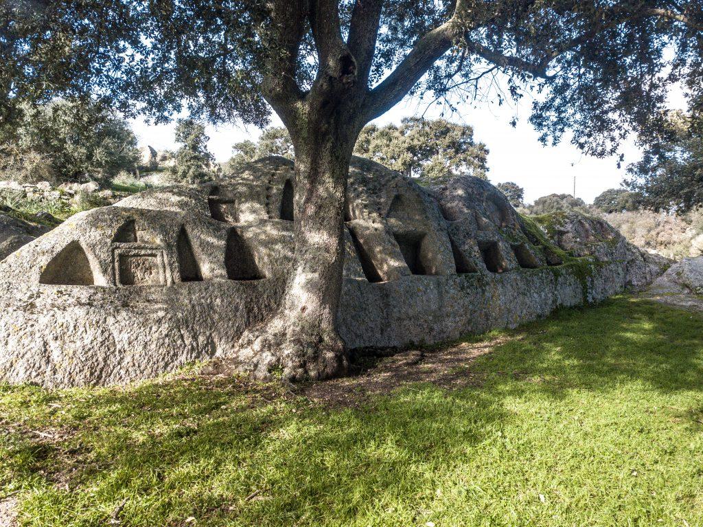 The strange and mysterious sacred area of Santo Stefano, Oschiri