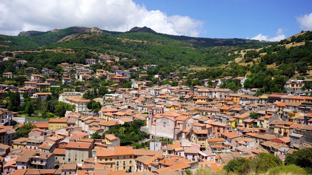 Santu Lussurgiu town, Sardinia, Italy