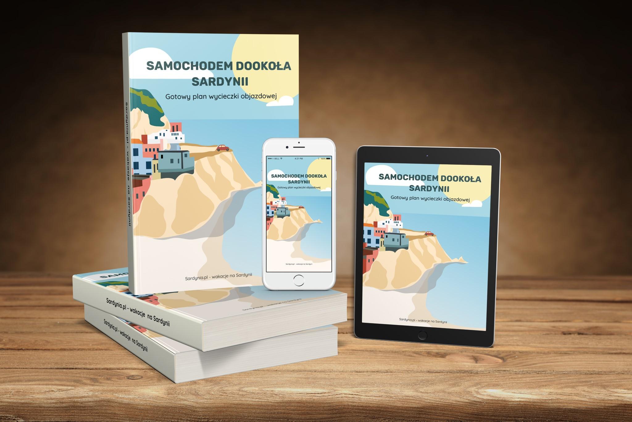 Okladka Sardynia samochodem ebook