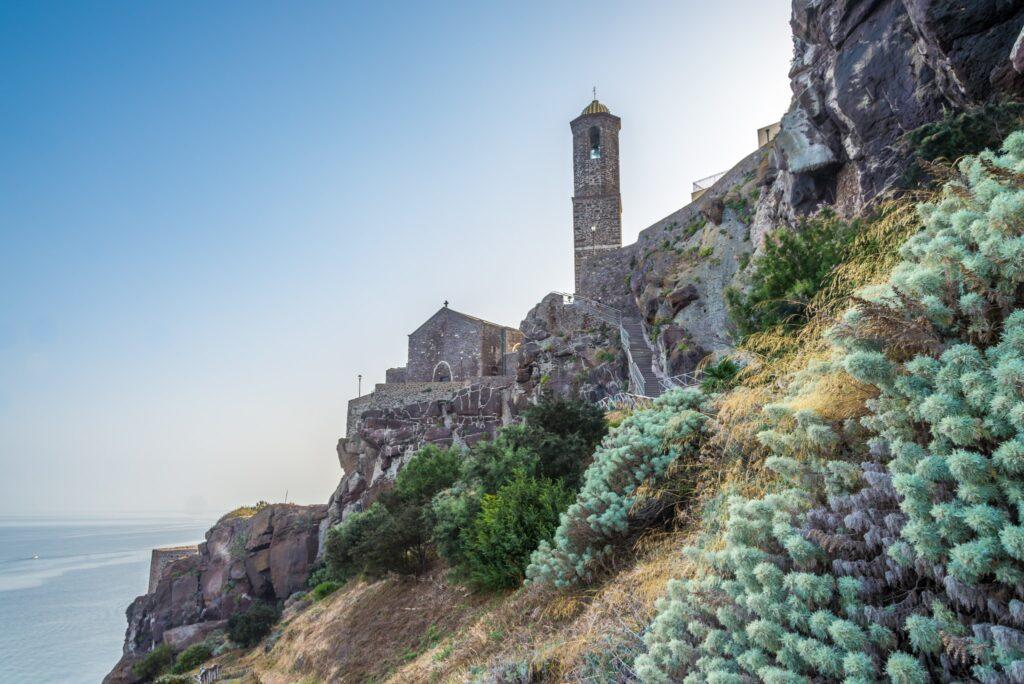 Cathedral Sant Antonio Abate in Castelsardo - Sardinia,Italy