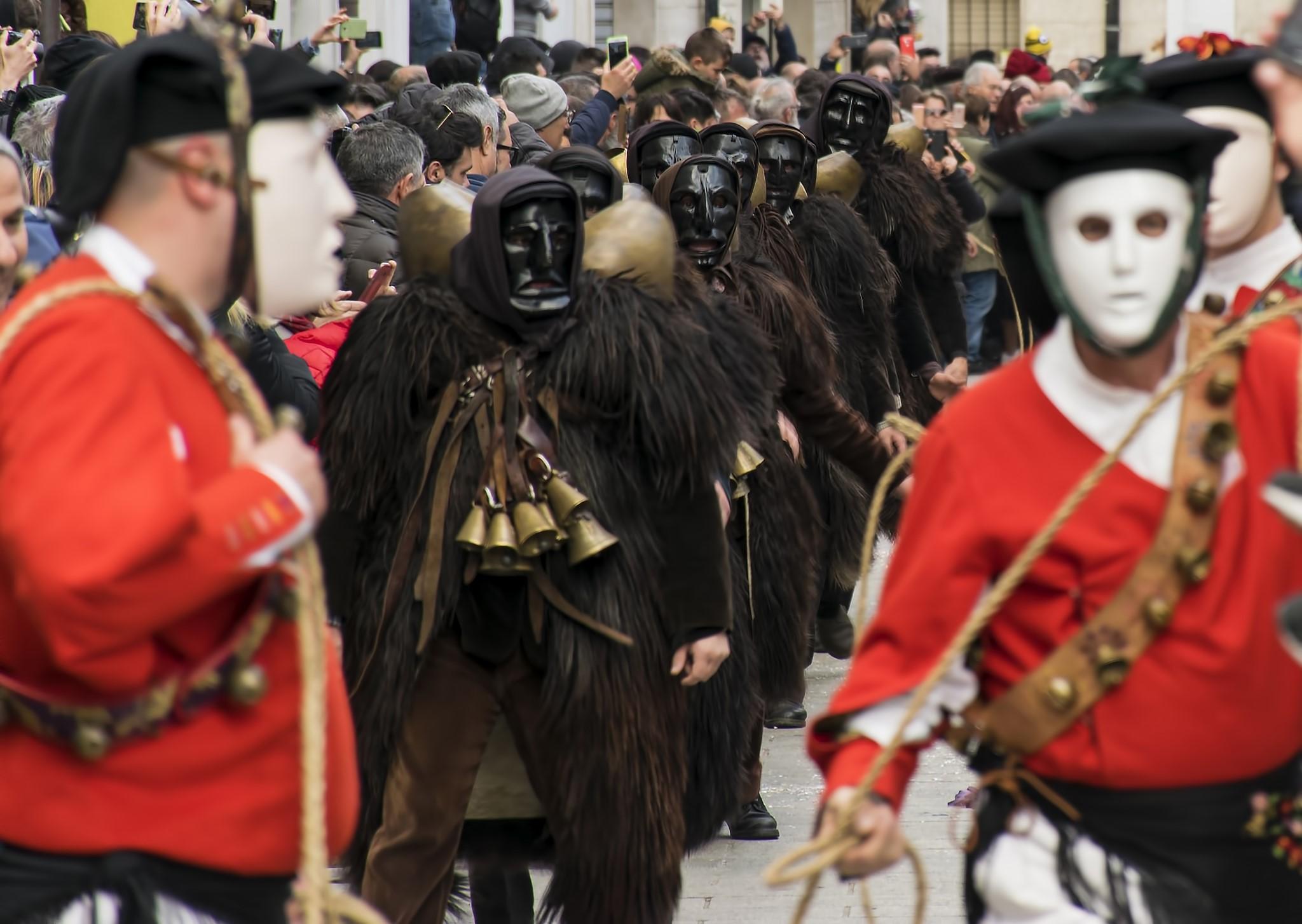 Issohadores from mamoiada's Carnival